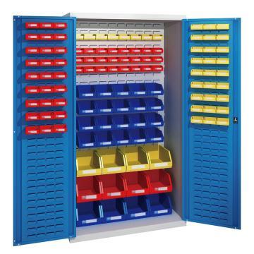 佰斯特 防静电承重型工具柜,(不含料盒)1000*600*1800 钢板厚(mm):1.2,C-16-12H