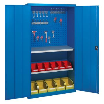 佰斯特 防静电承重型工具柜,(背板带方孔 不含挂钩/料盒)1000*400*1800 钢板厚(mm):1.2,C-14-12H