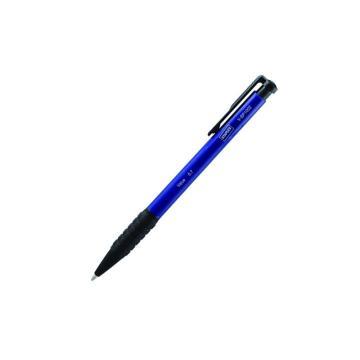 史泰博 按压圆珠笔, 0.7 蓝色V-BP1002,36支/盒 单位:盒(替代:RVX237)(售完为止)