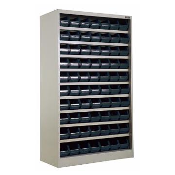 佰斯特 防靜電密集型貨柜,1080*500*1700(含防靜電零件盒60件,460*162*115)不帶門,MGJ04
