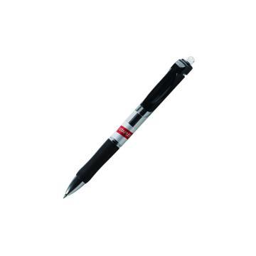 史泰博 按压式中性笔, 0.5 黑色 GP1005,12支/盒 单位:盒(替代:RVX208)