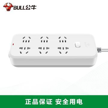 公牛BULL 接线板,GN-B5060 1.8m