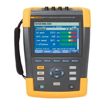福祿克/FLUKE 國際版電機效率和電氣性能綜合測試儀,FLUKE-438-II/INTL