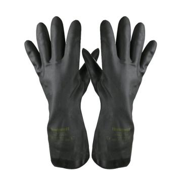 霍尼韦尔Honeywell 氯丁橡胶防化手套,2095020-09,氯丁橡胶防化手套