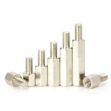 六角间隔柱,UNC4-40X6+7,铜镀镍,1000个/包