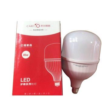 开尔 LED灯泡,45W E27 白光T140,直径14cm,高度24.3CM,单位:个