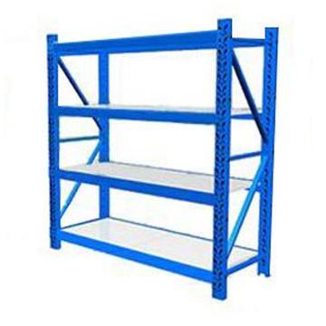 云洁 轻型货架主架,100kg,尺寸(长*宽*高mm):1500*500*2000,4层,蓝色 ,安装费另询