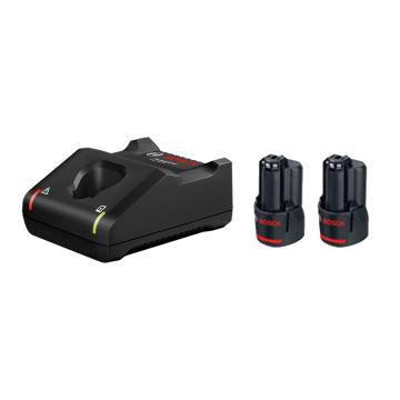 博世電池套裝,2電1充套裝12V/2.0Ah(新),1600A01B6T