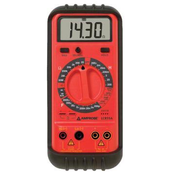 福禄克安博/Amprobe 电容电感表手持LCR测试仪数字电桥电感表 ,LCR55A