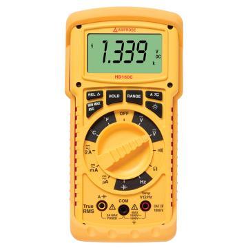 福禄克安博/Amprobe IP67重型真有效值万用表带温度,HD160C