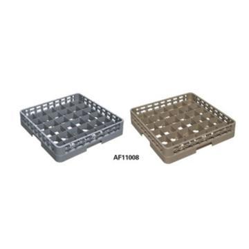 白云36格底筐,AF11008灰洗碗机专用杯碟筐分类筐/杂物筐