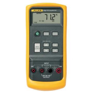 福禄克/FLUKE 铂电阻RTD过程校准器,FLUKE-712