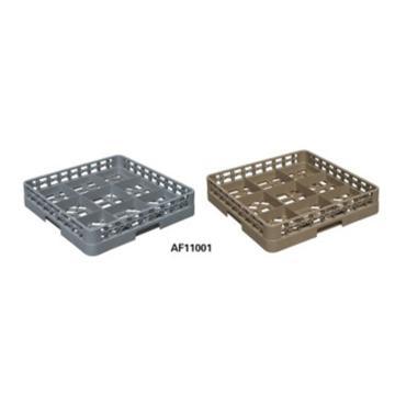 白云9格底筐清洁用品,AF11001灰色 洗碗机专用杯筐分类筐酒杯筐