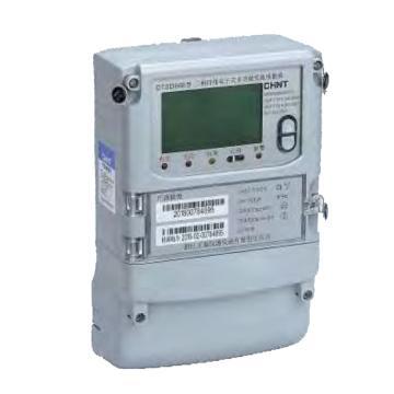 正泰CHINT DTSD666/DSSD66型三相电子式多功能电能表,DTSD666-1 220/380V1.5(6)A1/2级红外/双485