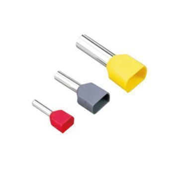 長虹塑料CHS 雙管型預絕緣端子,TE1508,1000個/包