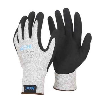 羿科 13针编织5级防割手套,掌部丁腈涂层,ACT5N