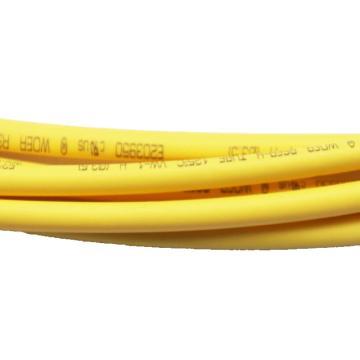 富杜 环保无卤H管绝缘套管 RSFR-H 400米/盘 黄色