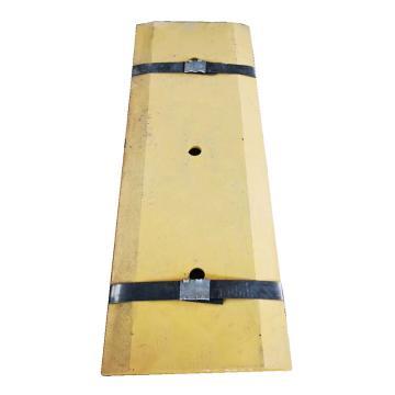 山工机械 066B铲车刃口板(副板),870mm*4块 3孔/块 孔间距300mm(定制产品,不退不换)
