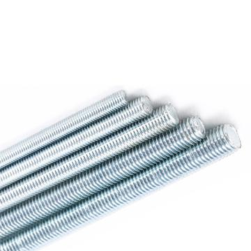 DIN975牙条,M6-1.0X3000,4.8级,蓝白锌,50支/捆