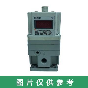 SMC 电气比例阀,电压型DC0-10V,L型托架,ITV2010-312CS3