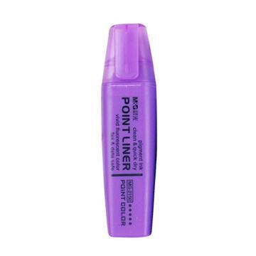 晨光 M&G 熒光筆,MG-2150 5.0mm (紫色),12支/盒 單位:盒(替代:MWW822)