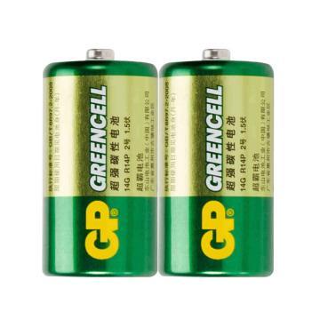 超霸 2号碳性电池,2粒装,2粒/包