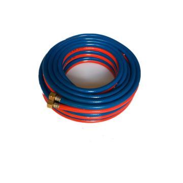西域推荐 国标焊氧双管,管径8mm,长度30米,带接头