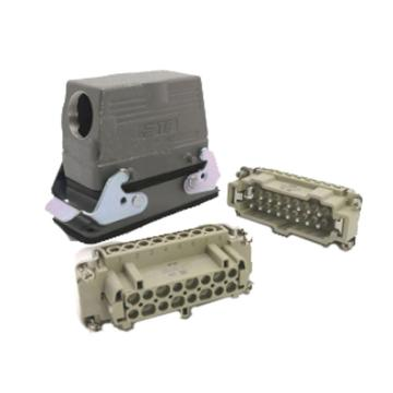 温州西霸士 矩形重载连接器,HDC-HE-016-3-PG21