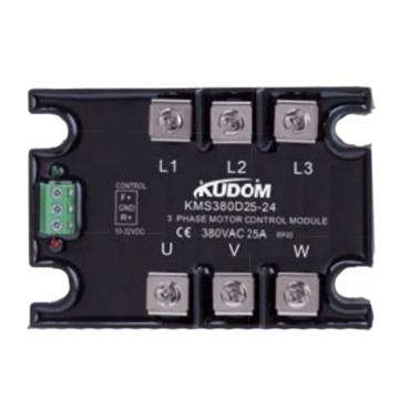 库顿KUDOM KMS系列三相正反转模块固态继电器,KMS380D25P-24F