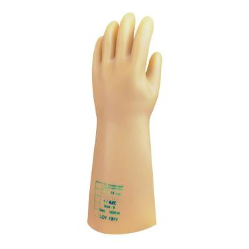 代尔塔DELTAPLUS 绝缘手套,207005-9,适用电压36000V