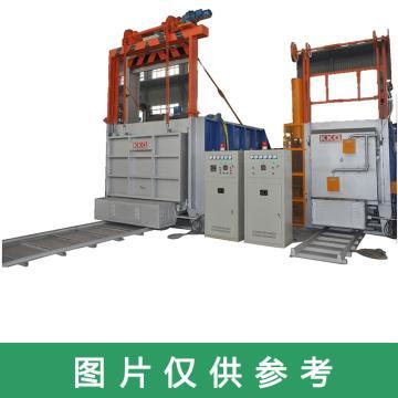 漢口電爐KKQ 便攜式臺車熱處理爐,RT4-180-10