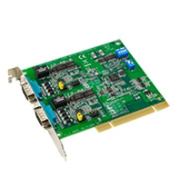 研华Advantech 2端口RS-232/422/485 PCI串口卡,带浪涌保护,PCI-1602B-CE