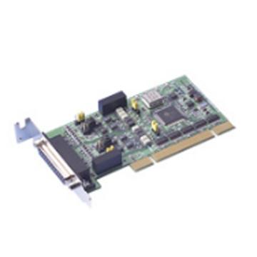 研华Advantech 2端口RS-422/485矮版PCI串口卡,带隔离及浪涌保护,含一根DB9数据线,PCI-1602UP-BE