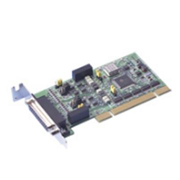 研华Advantech 2端口RS-232矮版PCI串口卡,带浪涌保护,含一根DB9数据线,PCI-1604UP-BE