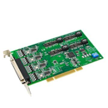 研华Advantech 4端口RS-232/422/485通用PCI串口卡,带浪涌保护,含一根DB9数据线,PCI-1612B-DE