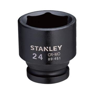 """史丹利公制六角风动套筒, 3/4""""系列27mm,STMT89405-8-23"""
