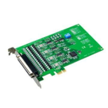 研华Advantech 4端口RS-232/422/485 PCIE串口卡,带浪涌保护,PCIE-1612B-AE