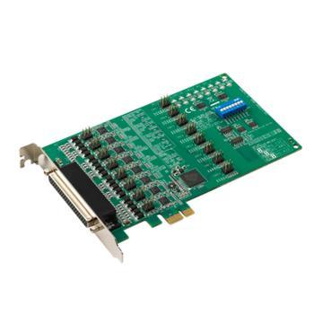 研华Advantech 8端口RS-232/422/485 PCIE串口卡,带浪涌保护,PCIE-1622B-BE
