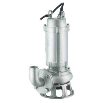新界 WQ100-10-7.5SQG WQ(D)-SQG系列全不锈钢304带切割功能潜水排污泵,带出水弯管,标配电缆8米