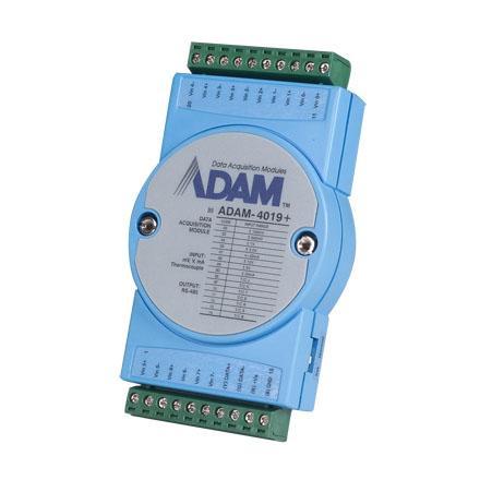 研华Advantech 分布式IO模块RS485,ADAM-4019+-AE