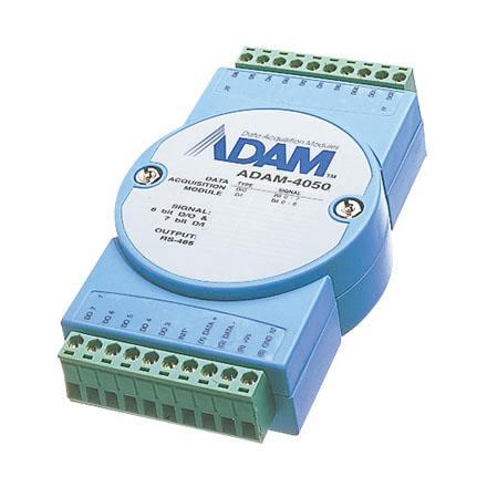 研华Advantech 分布式IO模块RS485,ADAM-4050-DE