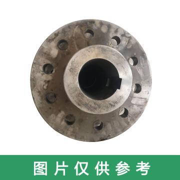 富凯 4m3电铲卷扬(回转)发电机接手,联轴器(10孔),矿山机械配件,Ø330*110*Ø245