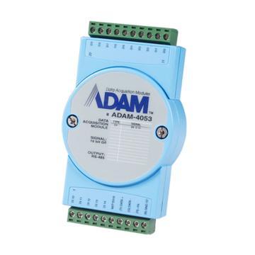 研华Advantech 分布式IO模块RS485,ADAM-4053-AE