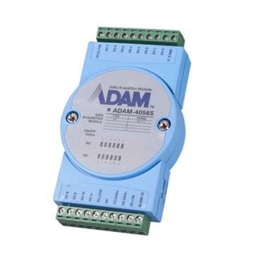 研华Advantech 分布式IO模块RS485,ADAM-4056S-AE
