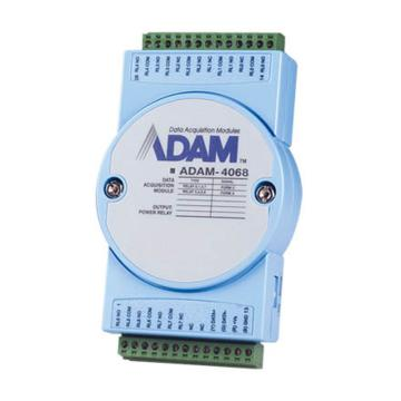研华Advantech 分布式IO模块RS485,ADAM-4068-BE