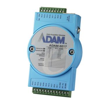 研华Advantech 智能型以太网IO模块,ADAM-6017-CE