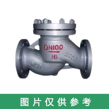碳钢升降式止回阀 H41H-64C,DN15