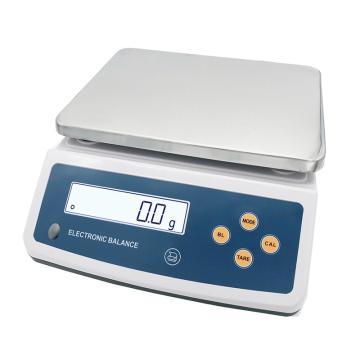 良平 电子天平,分析天平,量程:10kg,读数精度:0.1g,YP10K-1