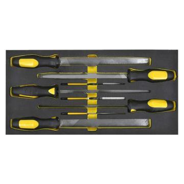 史丹利 EVA工具托组套,8件锉刀,90-038-23