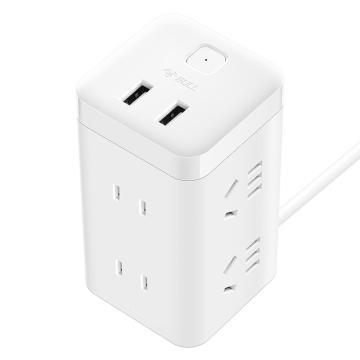 公牛 USB插座,GN-UU2126 3米